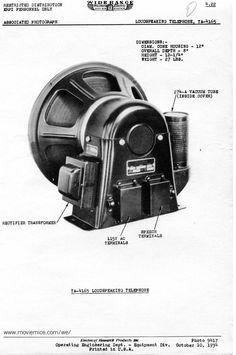 Western Electric speakers