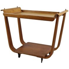 Shop serving tables and other modern, antique and vintage tables from the world's best furniture dealers. Serving Trolley, Serving Table, Table Furniture, Cool Furniture, Vintage Table, Tables, Tray, Antiques, Modern