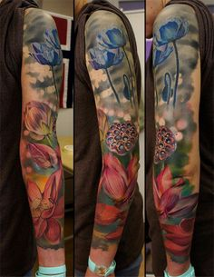 Nature full sleeve