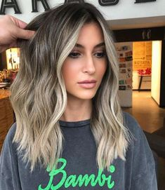 62 best of balayage shadow root babylights hair colors for 2019 42 Blonde hair models – Hair Models-Hair Styles Balayage Highlights, Hair Color Balayage, Color Highlights, Medium Balayage Hair, Haircolor, Ash Blonde Balayage, Ombre Medium Hair, Blonde Highlights On Dark Hair, Blonde Ombre Hair