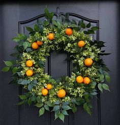 Orange Wreath Wreaths for Summer Boxwood and Oranges Front Orange Front Doors, Front Door Colors, Front Door Decor, Summer Door Wreaths, Wreaths For Front Door, Christmas Wreaths, Spring Wreaths, Front Porch, Boxwood Wreath