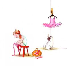 Dogs Don't Do Ballet By (author) Anna Kemp Book Illustration, Illustrations, Money Book, Ballet Art, Ballet Costumes, Pug Love, Charlie Brown, Character Inspiration, Pugs