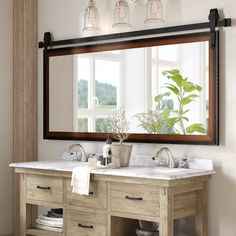 Bathroom decor for the master bathroom renovation. Discover bathroom organization, master bathroom decor ideas, master bathroom tile ideas, master bathroom paint colors, and much more. Home Design, Interior Design, Bath Design, Toilet Design, Interior Ideas, Layout Design, Tile Layout, Vanity Set With Mirror, Single Bathroom Vanity