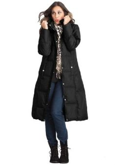 Jessica London Plus Size Down Filled Coat Black,20 Jessica London. $99.99