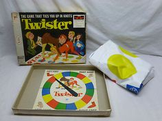 Retro 1966 Twister - Family/Teen Party Activity Game