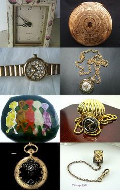 #TIME TRAVELLING ...with the #Vintage #VogueTeam #watches #clocks #timepieces