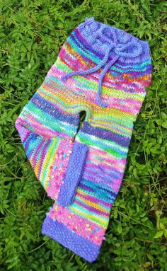 Wildflower Scrappies by earthbabyknits on Etsy, $55.00