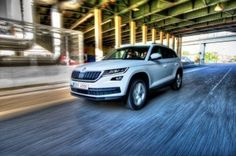 To a car market of Russia there is Skoda Kodiaq