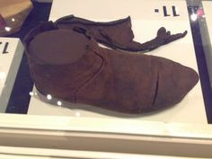 medieval shoe (2) - Aboa Vetus, Turku