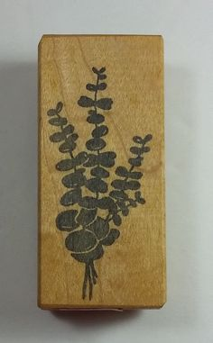 Eucalyptus Branches Rubber Stamp by Raindrops on Roses 1991 #RaindropsonRoses #Background
