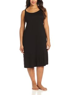 Natori  Women's  Shangri-La Nightgown >>> Check out this great image  : Plus size tops