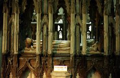 King Edward II (1284 - 1327) - Gloucester Cathedral