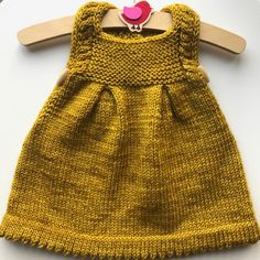 Honey Pie dress by Frogginette Knitting Patterns