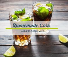 This cola recipe is better than the conventional recipe and is actually GOOD for you.