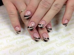 Exactly what is a Manicure? Crazy Nail Designs, Nail Polish Designs, Nail Art Designs, French Acrylic Nails, French Tip Nails, Fabulous Nails, Gorgeous Nails, Romantic Nails, Glamour Nails