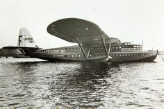 "January 10, 1935: First flight of the Latécoère 521, ""Lieutenant de Vaisseau Paris"", French six-engined flying boat, and one of the first large trans-Atlantic passenger aircraft."