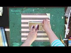 "Janna Werner: scrapbooking page ""just us"" - YouTube"