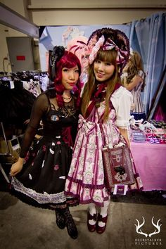 daily_lolita: Bonnets & Black Milk, catchup!