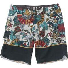 new holiday boardshorts surfer Mens Hawaiian shorts boarders black//hibiscus