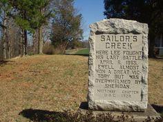 Sailor's Creek Monument at the Lockett Farm (David Duncan)