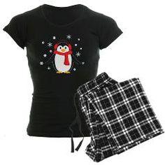 Winter Penguin Women's Dark Pajamas > Winter Penguin > Whimsical Designs