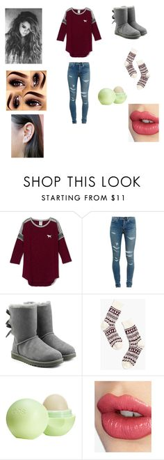 """""""Day outfit"""" by lukelover99 ❤ liked on Polyvore featuring Yves Saint Laurent, UGG Australia, Madewell, Eos and Charlotte Tilbury"""