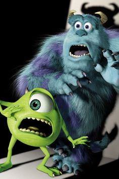 Day Favorite Pixar Movie: Monsters Inc. I laugh, I cry. Disney Pixar, Disney Monsters, Disney And Dreamworks, Disney Art, Cartoon Monsters, Monsters Inc., Disney Magic, Walt Disney, Monsters Inc