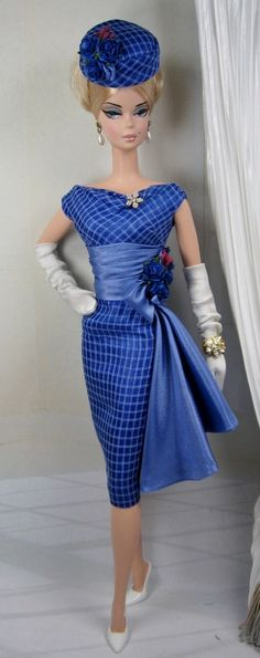 Veilchen for Silkstone Barbie and Victoire Roux by MatisseFashions
