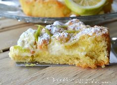 Sbriciolata morbida al mascarpone limone e cioccolato bianco, buonissima, delicata, profumata e friabile,velocissima ottima per colazione e merenda