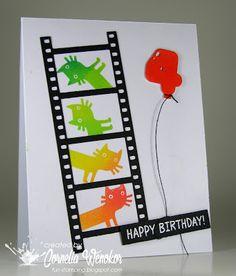 Stempel Spass: Happy 4th Birthday!