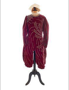 * Costume et chapeau de François Fratellini  vers 1920-1930 - Jeanne Peres