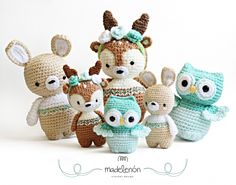My Forest 2 amigurumi by Madelenon