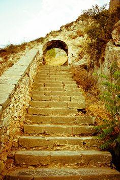 Nafplio'stairs 3 by Giacomo Muraca, via Flickr
