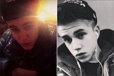 Justin Bieber and Robin Vereccas...dang they are twins!!
