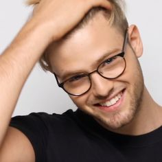 Register an account with Binance today Beautiful Men Faces, Gorgeous Men, Hair Videos, Hairstyles Videos, Designer Prescription Glasses, Mens Glasses Frames, Eye Candy Men, Hairstyles With Glasses, Buy Glasses Online