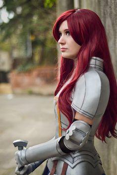 Erza Scarlet Armor Cosplay