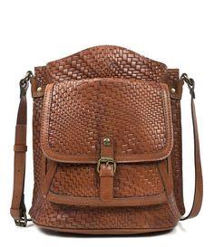 88a959fa5eda Patricia Nash Leather Chain Link Collection Pisticci Shoulder Bag