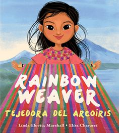 Rainbow Weaver: Tejedora del Arcoiris By : Linda Elovitz Marshall Book Excerpt : A young Mayan girl isn't allowed to use her mother's thread. Art Books For Kids, Childrens Books, First Grade Books, Art Lessons Elementary, Arts Ed, Children's Literature, Art Classroom, Conte, Teaching Art