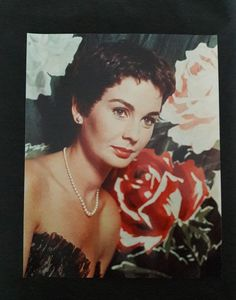 Jean Simmons Vintage Glossy 8 x 10 Color Photograph of Jean | Etsy