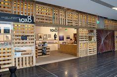wood Pallet storefront