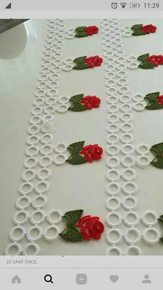 Filet Crochet, Crochet Doilies, Crochet Flowers, Crochet Lace, Baby Knitting Patterns, Crochet Patterns, Crochet Rings, Square Patterns, My King