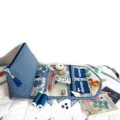 Trendy Bag Description Image of The seamstress's binder tutorial - madam Sewing Box, Sewing Notions, Bags 2017 Trends, Notions De Couture, Sewing Tutorials, Sewing Projects, Costumes Couture, Couture Sewing, Jaba