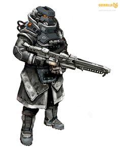Killzone 3 HgH LMG Trooper.