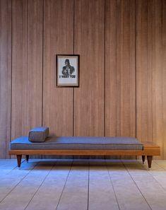 Upholstered bench BI HOUNDSTOOTH DAYBED - @kanndesign