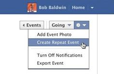 Facebook simplifies repeat event creation (12.4)