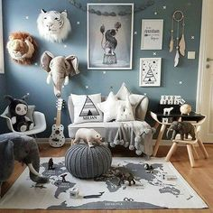 cool Nursery Decoration Ideas: Unisex Style
