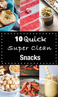 Clean Snacks for a q