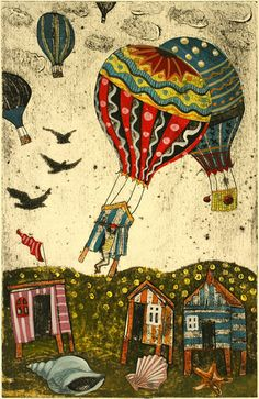 Diane Griffiths  - Up, Up and Away