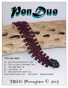Best Seed Bead Jewelry  2017  Bead Mavens: Bracelet tute  series of schema.   Seed Bead Tutorials