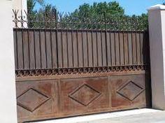 Peinture portail fer portail pinterest for Quelle peinture pour portail en fer
